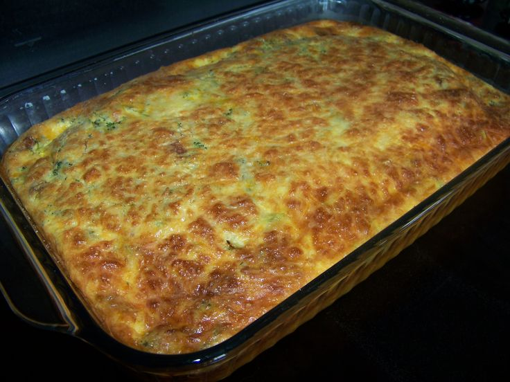 Broccoli and Bacon Egg Casserole - Low carb recipes suitable for all low carb diets - Sugar-Free Low Carb Recipes