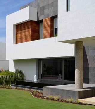 Contemporary Exterior Design Ideas, I like Colors, Textures