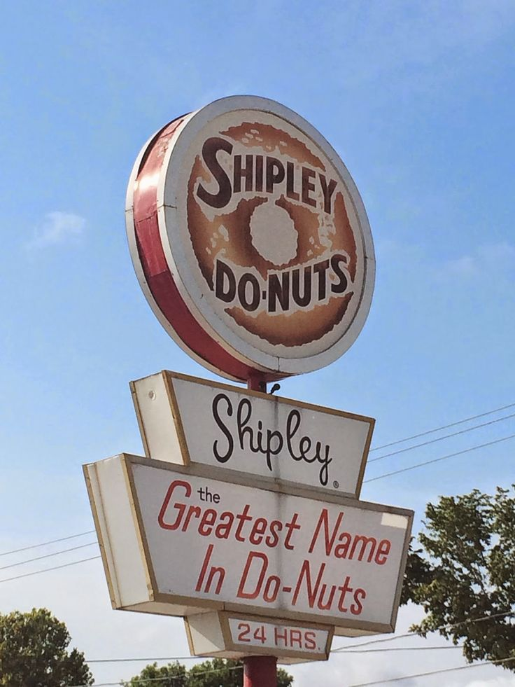 No trip to Texas is complete without a stop at Shipley's Donuts!