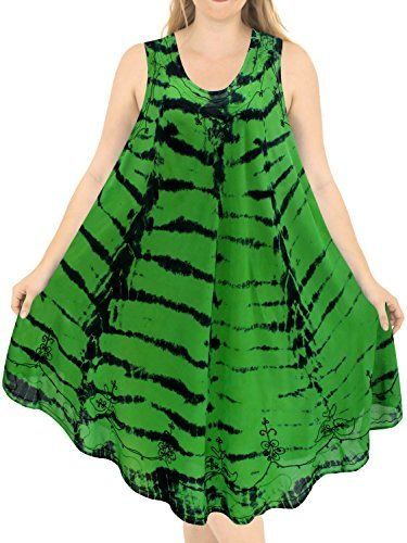 New La Leela Rayon Plus Size Tank Hand Tiedye Dress Cover up Maxi Caftan Beach Dress online. Enjoy the absolute best in BIYOUTH Dresses from top store. Sku ydwc97455mcvl27497
