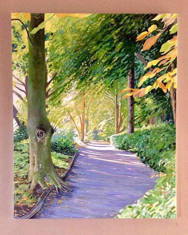 Altamont walk  Emerboweart.  Buy it now on my etsy > https://www.etsy.com/ie/people/emerbowe?ref=hdr_user_menu #Painting #oiloncanvas #Art #oilpainting #oil #canvas #paint #irish #irishartist #EmerBowe