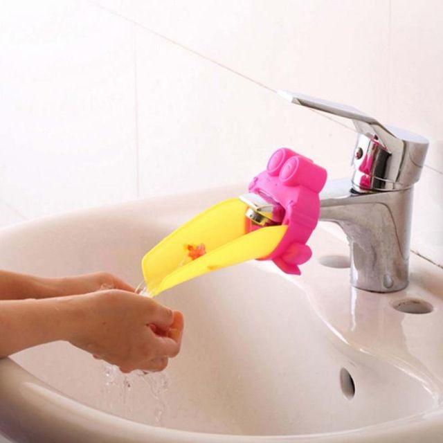 Kids Bathroom Faucet Extender Children Hand Washing Faucets