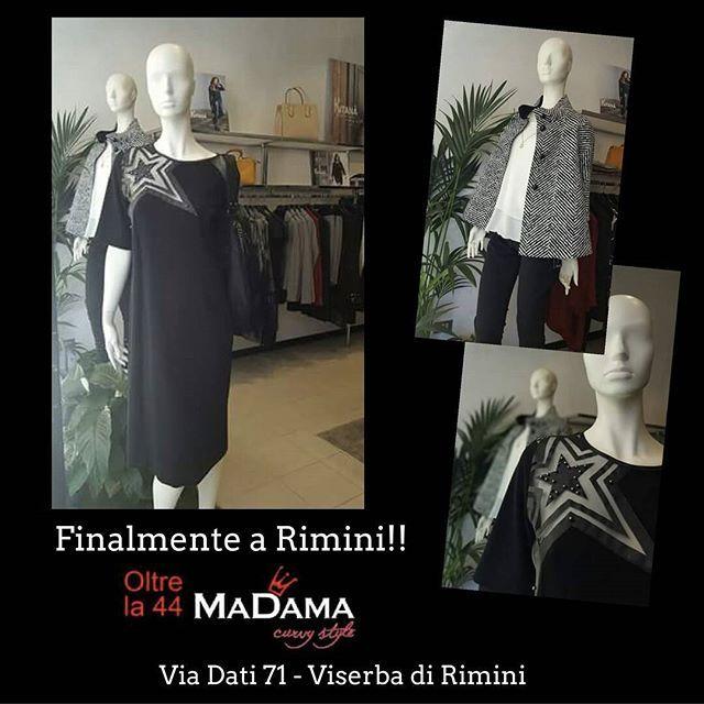 """Madama abbigliamento finalmente anche a Rimini #Curvy Style MADE IN ITALY  dalla 46 alla 52  Proposte innovative  Look attuale  Cura dei dettagli  Femminilità... #Kitana è tutto questo  ed altro ancora.. MADAMA  Via dati, 71 - #VISERBA (Rn) di fronte al Bagno 31  #Madama #abbigliamento #rimini ✆ 335.5605627  Madama Partner ufficiale gruppo FB """"Mamme di Rimini"""" #KITANA by #Rinascimento #curvystyle #curves #Abirò #annuncirimini #vivorimini #vivoemiliaromagna #fashionblogger  #madeinitaly…"""