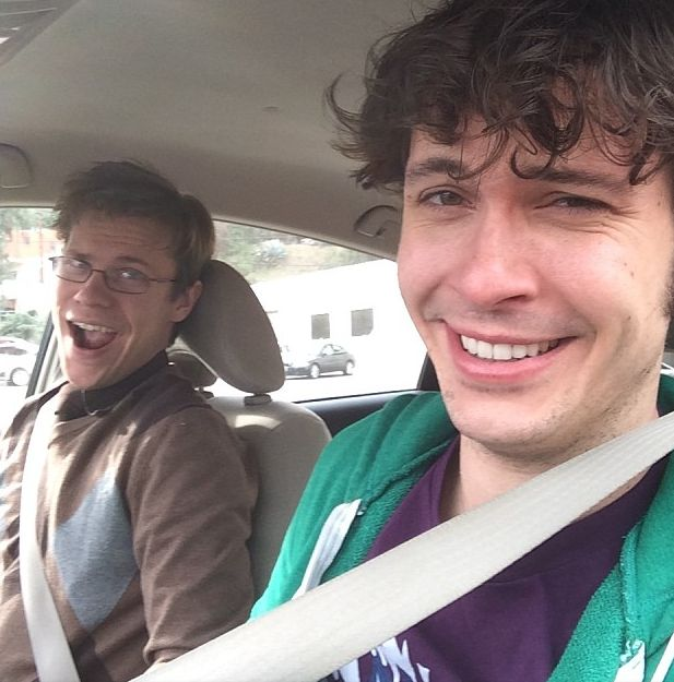 Toby Turner and his friend,Tim #timdoesnthaveaninstagram  Loooove Tim