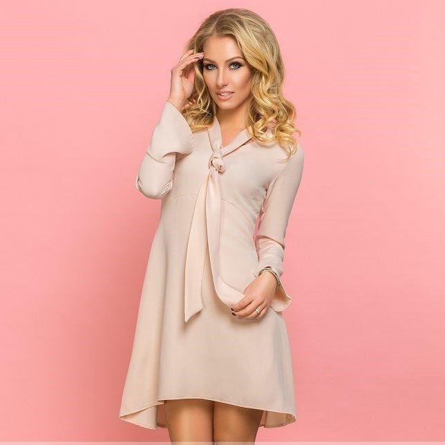 Платье асимметричной длины ST13013