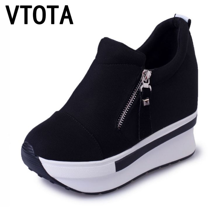 Cheap zapatos mujer, Buy Quality high heels shoes woman directly from China high heel shoes Suppliers:  VTOTA Women Casual Platform Shoes Fashion High Heels Shoes Woman Wedges  Women Shoes Loafers Heigh Increasing zapatos mujer B98