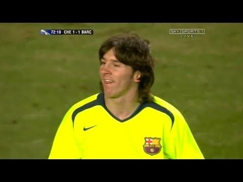 sports shoes b2ea5 de7b2 MITAKKA Sport :): Lionel Messi vs Chelsea 2006! | Leisure ...