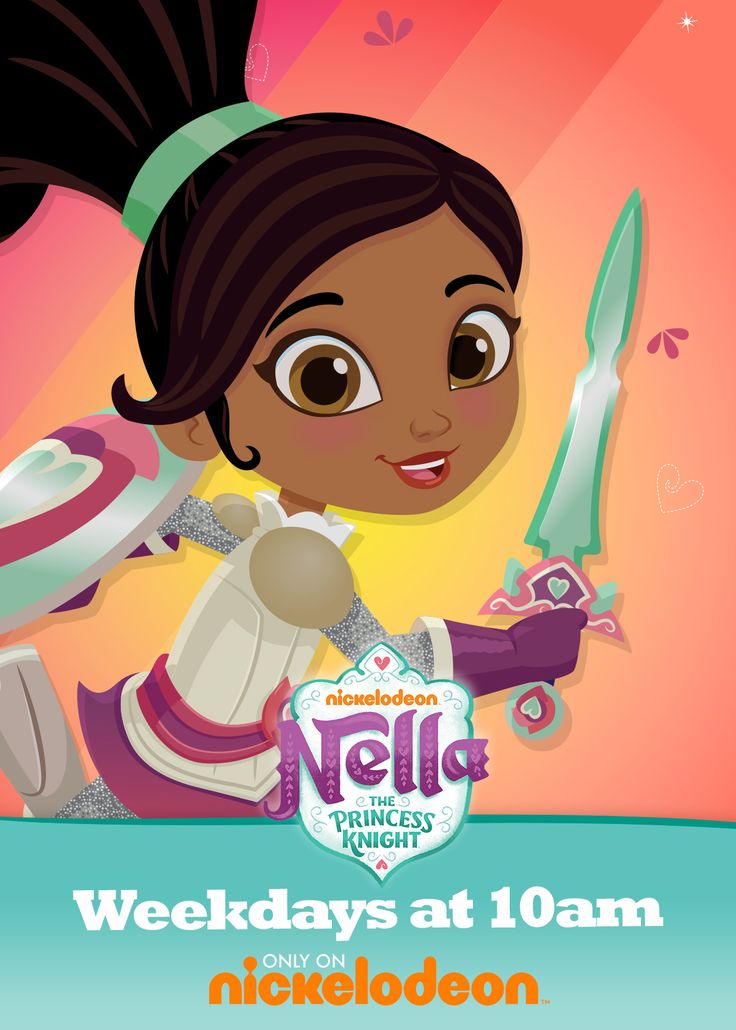 Weekdays at 10am, a brand-new series with a different kind of hero comes to Nick Jr.: Nella the Princess Knight! Nella has all of the trappings of a princess: a sparkling tiara, beautiful gowns, and a magical pet unicorn. But that's only part of the story…Nella's also a knight! With the help of her friends, bold, bright Nella always fights for what's right. Explore games, videos, and more at nickjr.com!
