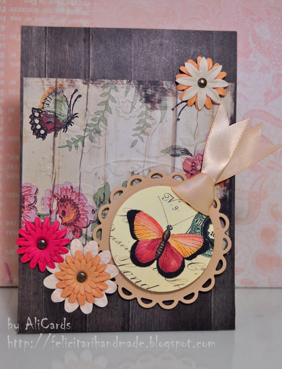 Flowers for your heart by AliCards on Etsy, $5.00