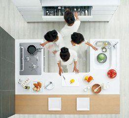 маленькая удобная кухня