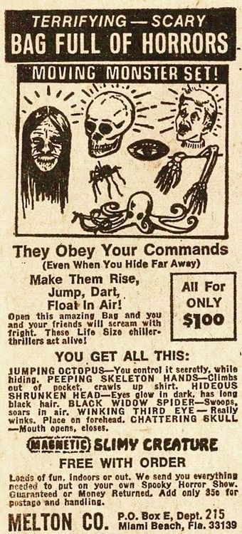 Put on your own Spooky Horror Show!  They obey your commands even you hide far away!