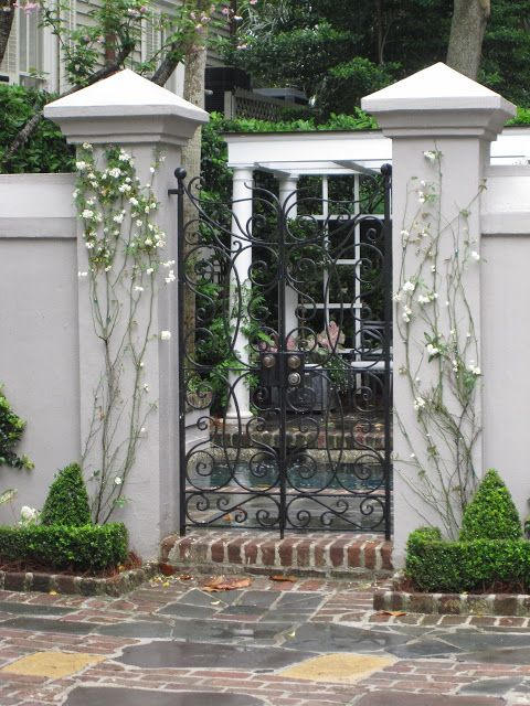 Beautiful Entry Gate, Lovely Southern Charm~❥