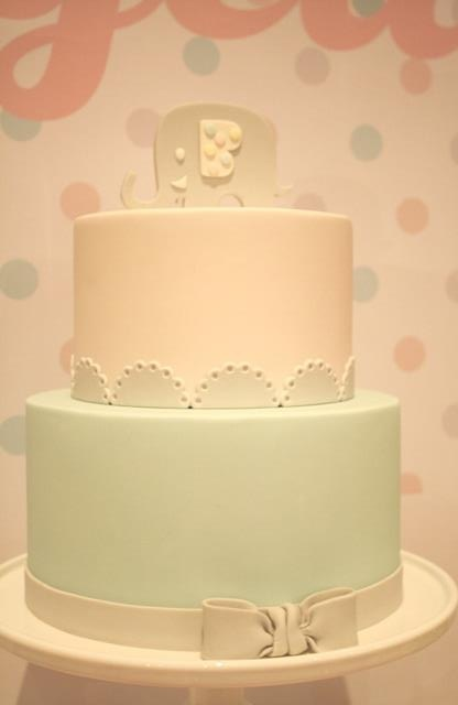 Christening Cake - Couture Cupcakes & Cookies
