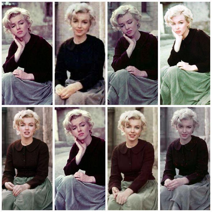 Marilyn. Peasant sitting. Photos by Milton Greene, 1956.