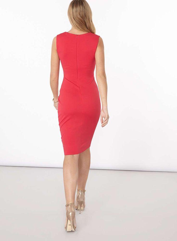 Womens **Scarlett B Pink 'Lydia' Bodycon Dress- Pink