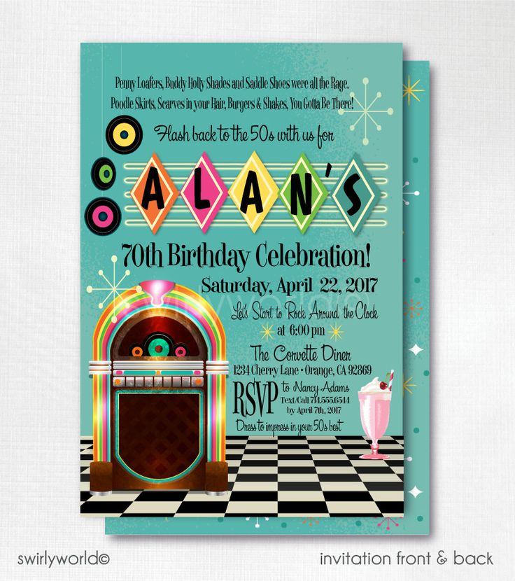 42 best Birthday party invitations images on Pinterest | Birthday ...