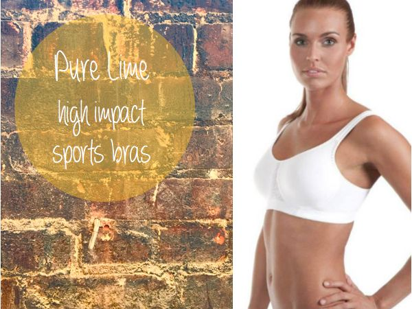 Pure Lime high impact bras give maximum support while out running or performing other types of high impact activity. www.purelime.com