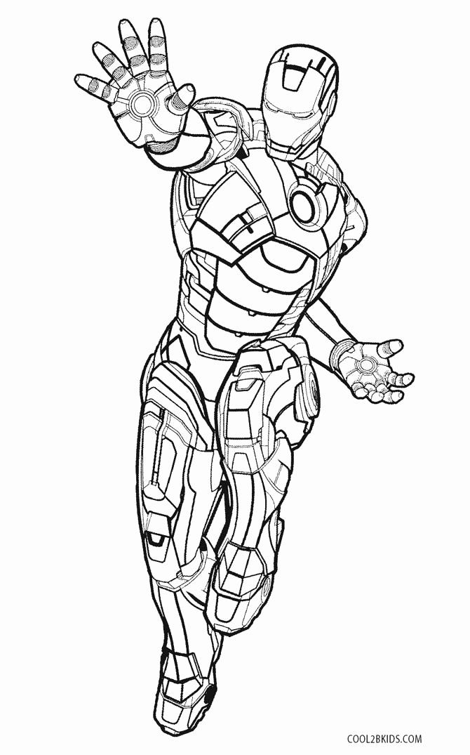 Iron Man Printable Coloring Pages Fresh Free Printable Iron Man Coloring Pages For Kids
