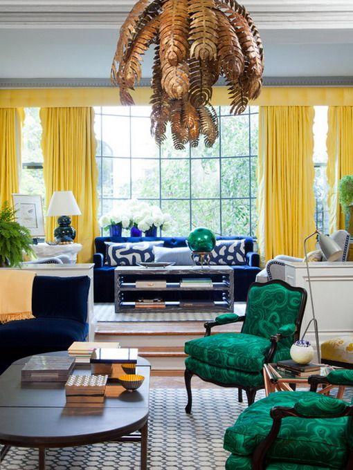 Die besten 25+ Eklektische vorhänge Ideen auf Pinterest Zigeuner - moderne gardinen für wohnzimmer