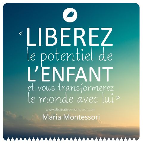 citation Montessori - alternative montessori