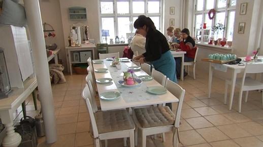 TV indslag omkring Savillas Landkøkken