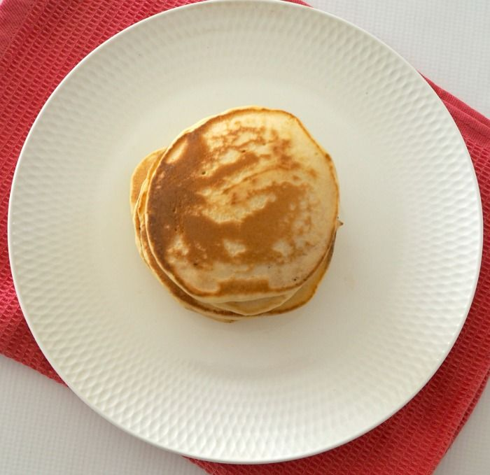 My family likes to mark ALL special occasions (including the weekend!) with pancakes for breakfast. These Thermomix Fluffy Pancakes are one of our favouritef