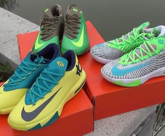 Nike KD 6 New colors