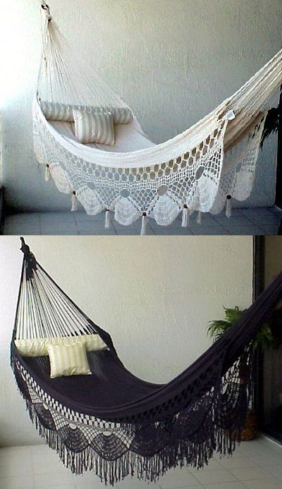 indoor hammock by Hang in There  http://www.theaestate.com/2013/06/hang-in-there-indoor-hammocks.html#.UdCRE_lJ4eU