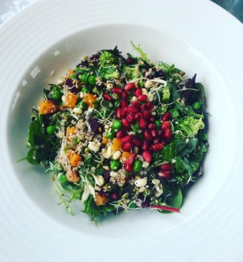 Our Superfood Salad is packed with goodness and tastes just as good as it looks! 😍 📸  Monisha Mahtani