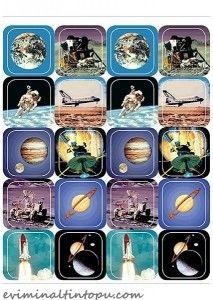 çocuklar için hafıza oyunu kartları (1) « Evimin Altın Topu