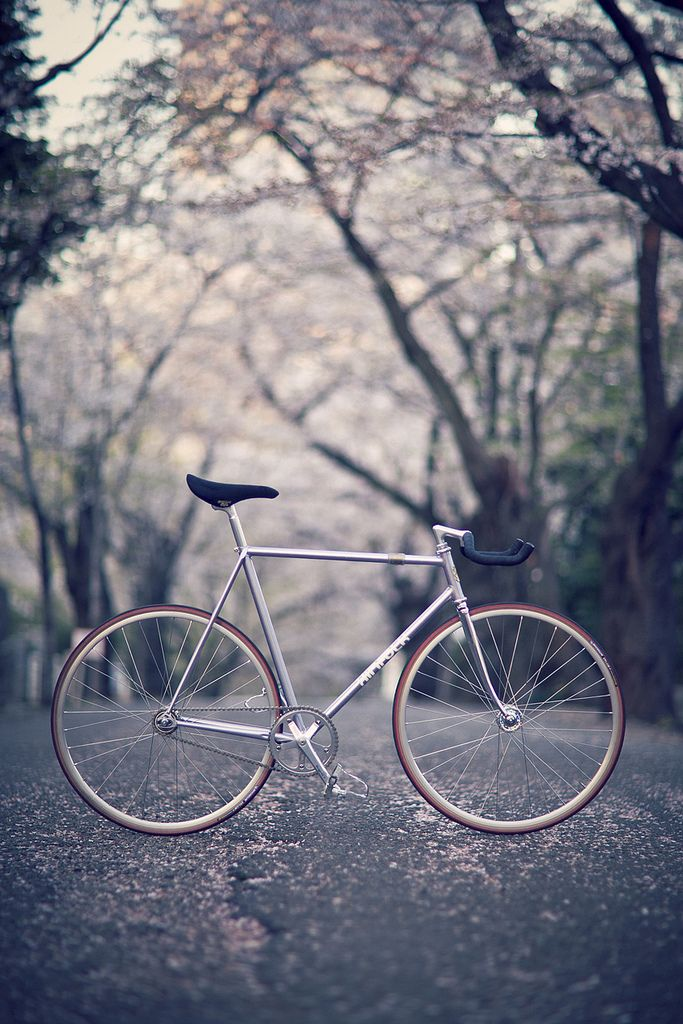 Simple vintage road bike // kinfolk