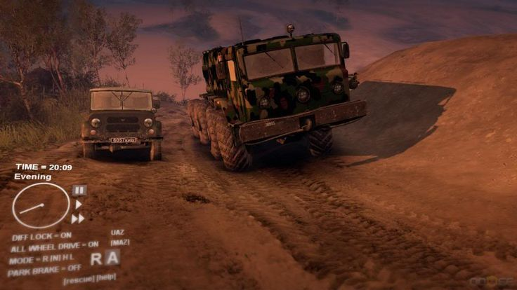 Spintires Game Screenshots