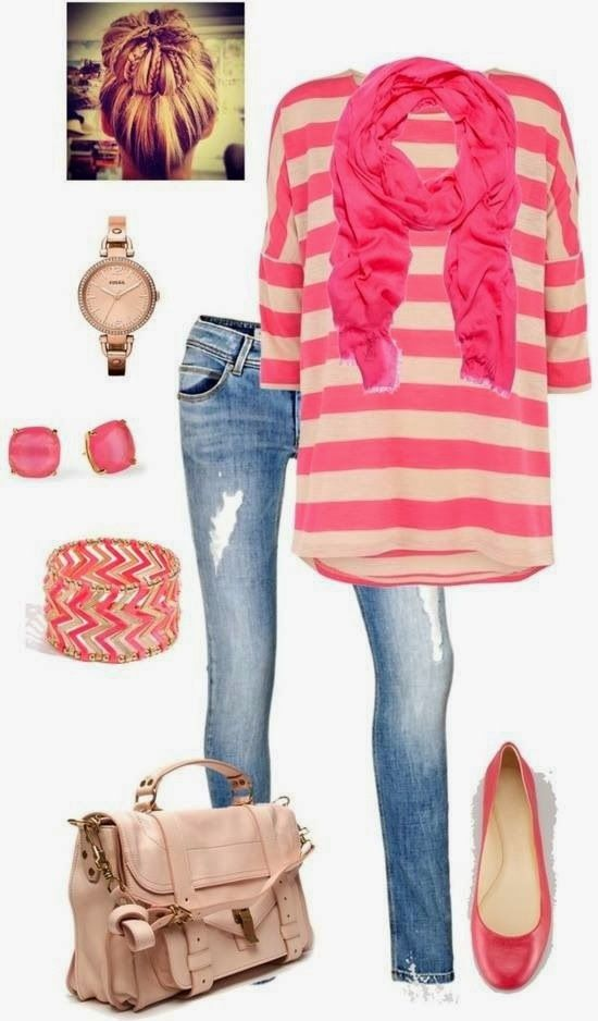 Love this whole outfit…so cute and kid-friendly. From Shay at Mix & Match Mama.