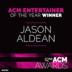 Sunday Night, April 2nd, Jason won the Academy of Country Music's Entertainer of the Year award! This is the second year in a row Jason has received the honor.  HUGE,HUGE,HUGE, Congratulations buns on  2nd win of Entertainer Of The Year. That's AWESOME. WELL DESERVED that's for sure. I can't tell enough how AWESOME and AMAZING you are Peach. I had a feeling you were going to win it. I am very,very happy for you.Keep doing what your doing georgiabuns. Keep em' coming. Congratulations again.