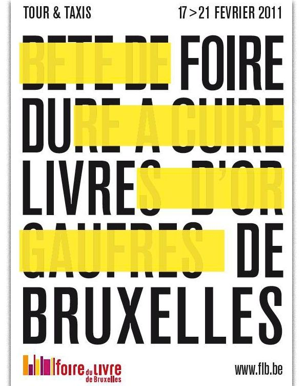 La Foire du Livre à Bruxelles, 2011