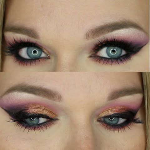 Gorgeously done, Preen Me VIP Amy P., makes sure her sunset colored lids won't go unnoticed. Her fringes are simply awe-inducing, as she used the gift she received from Tweezerman #realbeautygenius. The ProCurl Lash Curler is every MUA's dream as it has special drama-adding powers to open up your eyes.