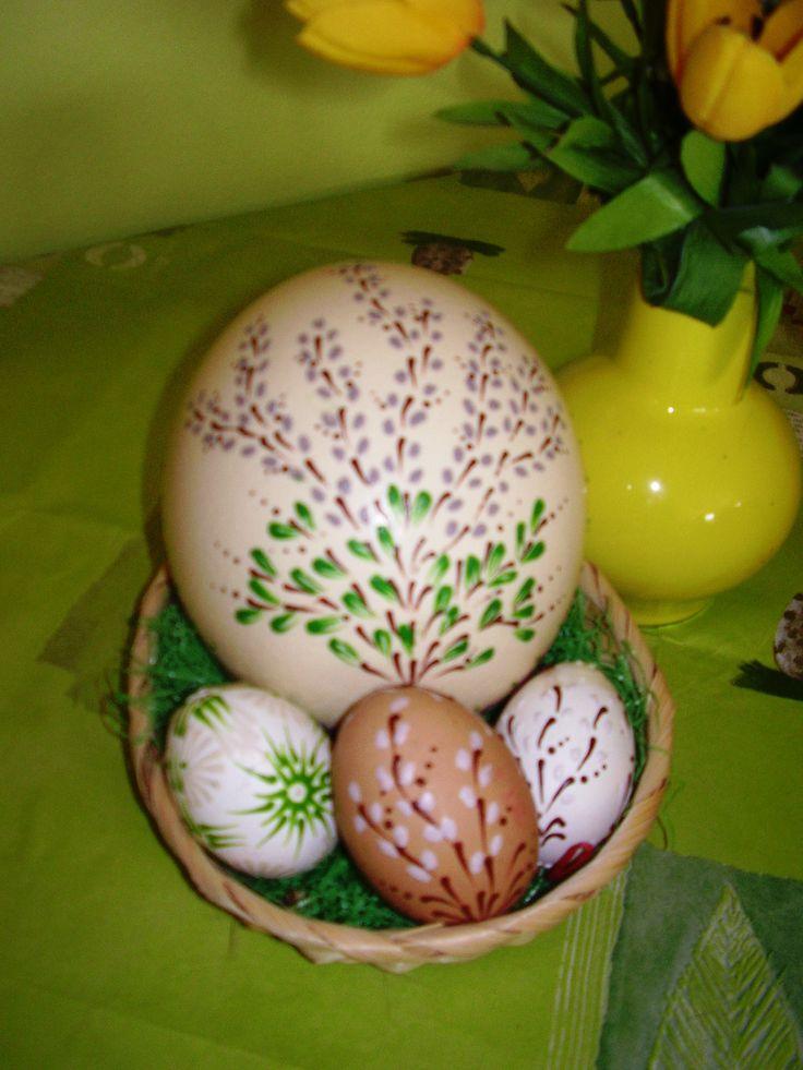 Veľkonočné vajíčka / pštrosie/