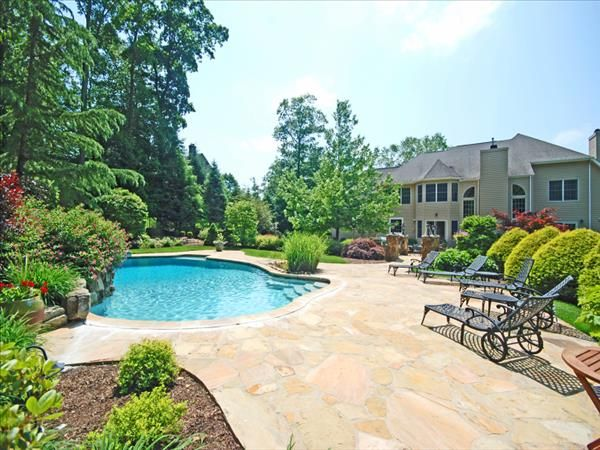 Spectacular luxury home for sale in warren nj 07059 plus for Better homes and gardens swimming pools