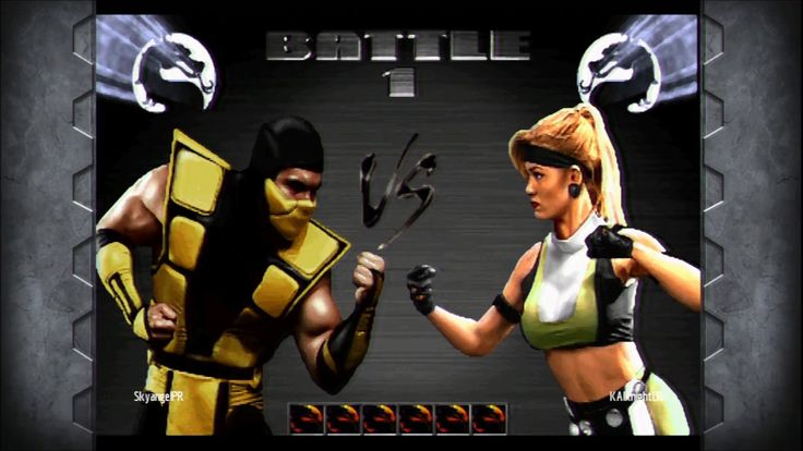 Ultimate Mortal Kombat 3 vs KingGamerArthurv32
