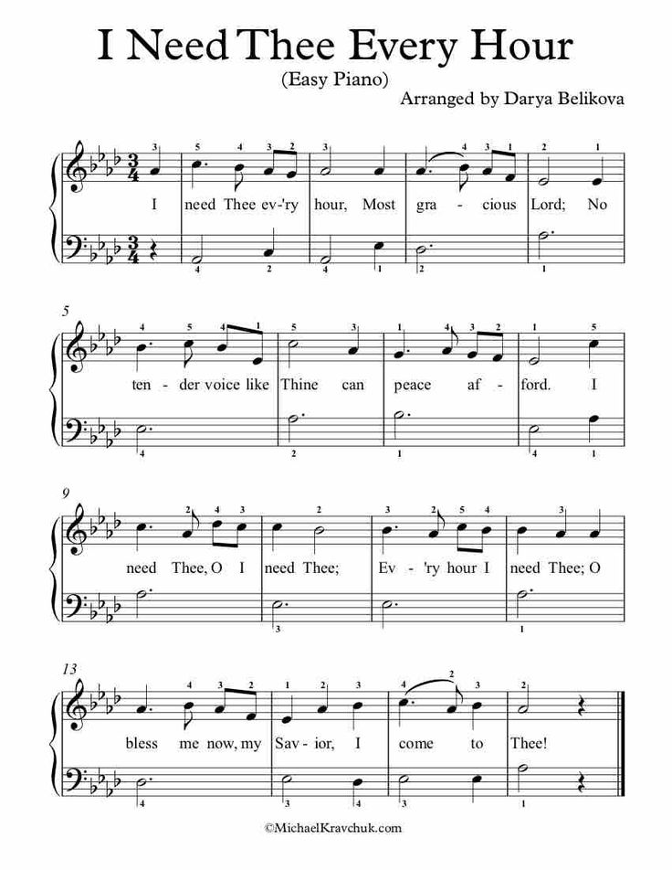 Park Art My WordPress Blog_All I Want Piano Sheet Music Easy