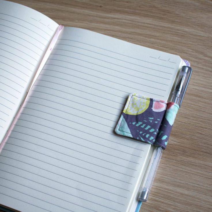 süßes Lesezeichen Stifthalter Schnittmuster Nähanleitung   – Things I love