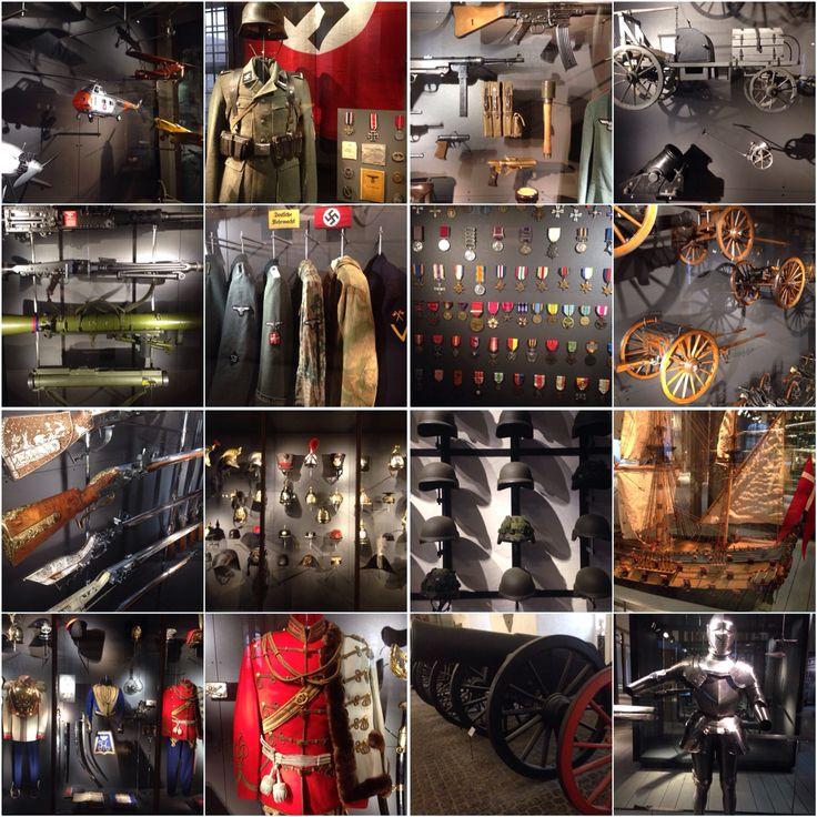 Tøjhusmuseet. En opdagelsesrejse af krigsartefakter: Kanoner, geværer, skjolde, hjelme, uniformer, skibe, flyvemaskiner