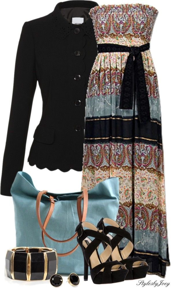 """""""Maxi - Paisley Style"""" by stylesbyjoey ❤ liked on Polyvore"""