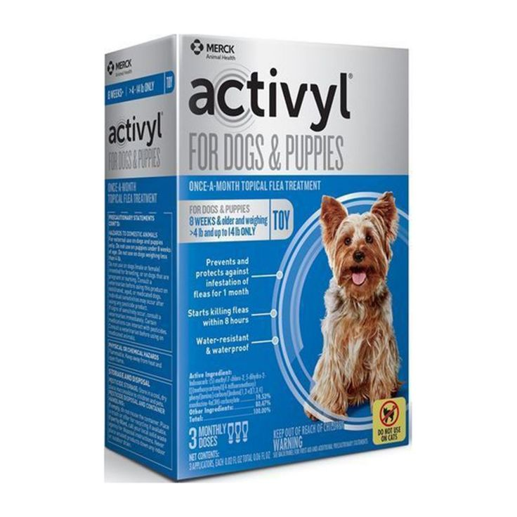 Activyl For Dogs 3 Month Supply 89 132lbs In 2020 Dog Treatment Flea Treatment Dogs And Puppies