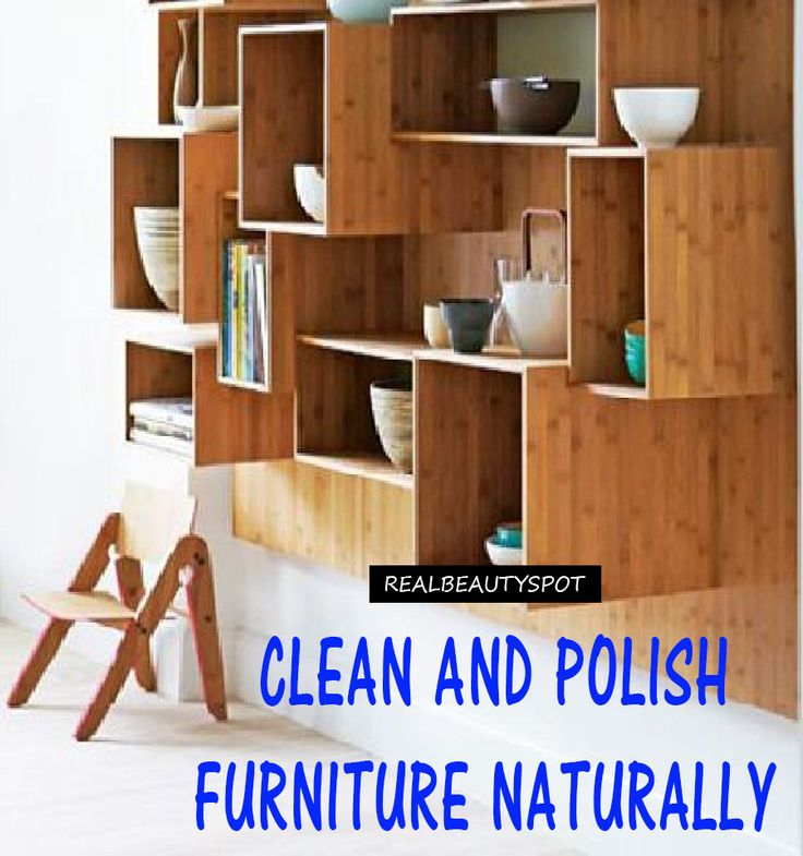 Natural Furniture Cleaner And Polish