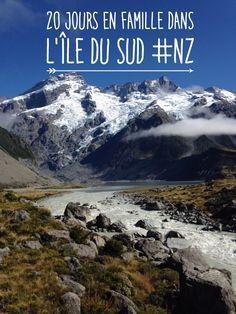 Notre roadtrip en famille dans l'île du sud en Nouvelle-Zélande (février 2016)