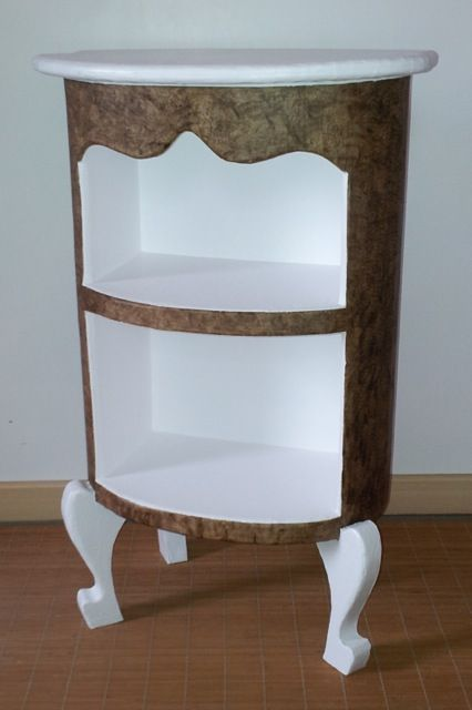 """Petit meuble """"Ovale"""" http://www.collection-carton.fr/product.php?id_product=114"""