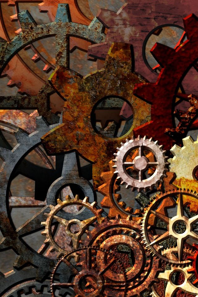 Steampunk Gears And Cogs Background   www.imgkid.com - The ...