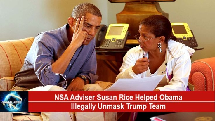 SUSAN RICE Helped Obama Illegally UNMASK Trump Transition Team[NEW DETAI...