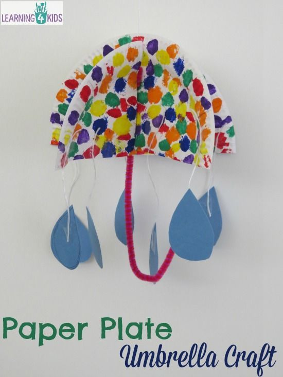 To use these instructions to make hanging paper umbrellas with  beautiful printed card stock. Paper Plate Umbrella Craft